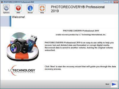 PHOTORECOVERY Professional 2019 v5.1.8.9 Multilingual