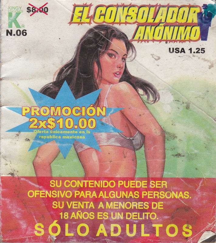 XXX Mexican Comic – El Consolador Anonimo 6 [Uncensored]