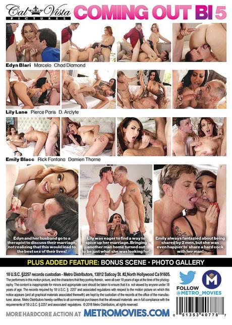 Coming Out Bi 5 / Каминг Аут Би 5 (Vincent Voss, Cal Vista) [05.12.2018. Bisexual, Oral/Anal Sex, Vaginal Sex, Threesome, Hardcore, Cumshots,... Lily Lane, Edyn Blair, Emily Blacc,. 1080p](Split Scenes)