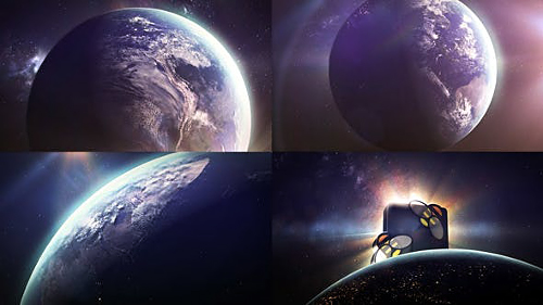 Earth Sun Logo - Project for After Effects (Videohive)