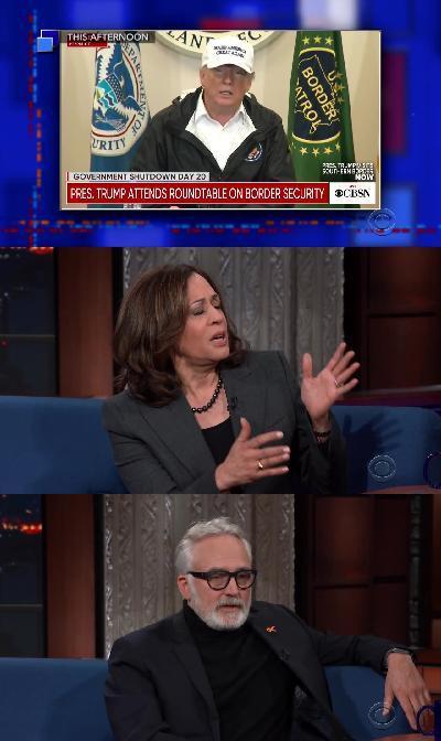 Stephen Colbert 2019 01 10 Sen Kamala Harris 720p HDTV x264-SORNY