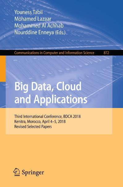 Big Data, Cloud and Applications
