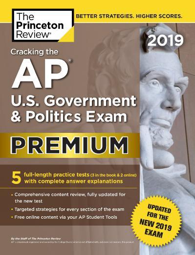 ing the AP U S  Government & Politics Exam 2019,