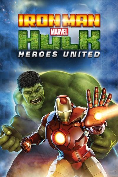 Iron Man And Hulk Heroes United 2013 1080p BluRay x264-PHOBOS