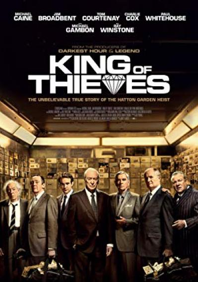 King Of Thieves (2018) [BluRay] [720p]