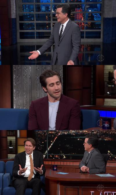Stephen Colbert 2019 01 16 Jake Gyllenhaal 720p HDTV x264-SORNY