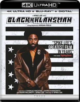 Чёрный клановец / BlacKkKlansman (2018)  Blu-Ray 2160p | 4K | HDR | Dolby Vision | Лицензия