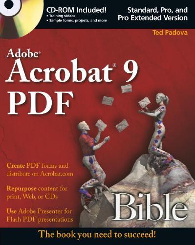 Adobe Acrobat 9 PDF Bible PDF 2008 IPT