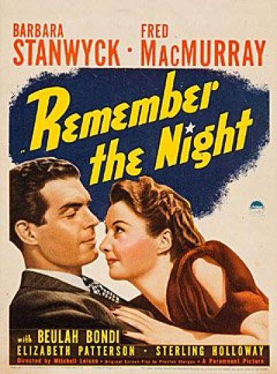 Remember The Night (1940) [BluRay] [720p] [YIFY]