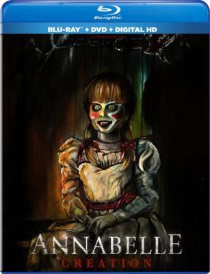 Проклятие Аннабель: Зарождение зла / Annabelle: Creation (2017) BDRip 1080p | Лицензия