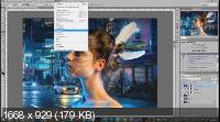Создание коллажа в Photoshop. Атмосферный коллаж (2019)