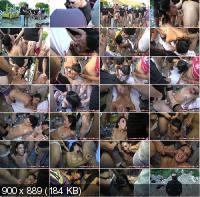French-Bukkake - Lucia Baccarat - Bukkake (HD/720p/725 MB)