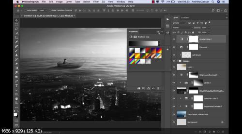 Сюрреализм в фотошопе. Surreal Photoshop Editing Tutorial (2019)
