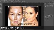 Быстрое контурирование лица в Photoshop (2019) WEBRip