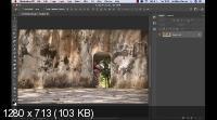 Замена фона с тонировкой в Photoshop (2019) WEBRip