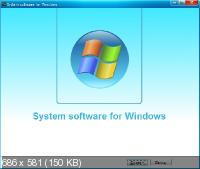 System software for Windows 3.2.8