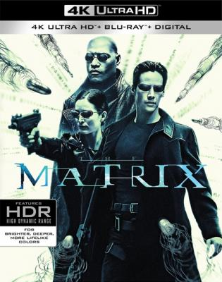 Матрица / The Matrix (1999) BDRemux 2160p   HDR   Dolby Vision   Лицензия