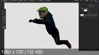 Неоновый гонщик в Photoshop (2019/Full HD)
