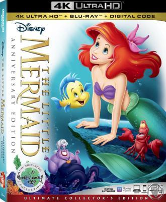 Русалочка / The Little Mermaid (1989) BDRemux 2160p | HDR