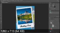 Делаем Mockup из PSD шаблона в Photoshop (2019) WEBRip