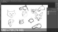 Рисование животных в Photoshop. Базовые принципы (2019/WEBRip)
