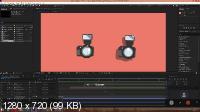 Создаем анимацию нарисованного фотоаппарата в After Effects (2019)
