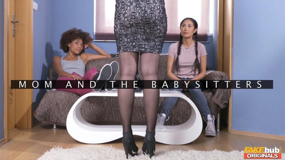 Angel Wicky, Davon Kim, Luna Corazon- Mom, the Babysitters (09.03.2019) [1080p]