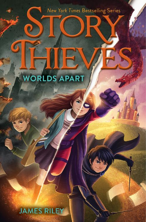 Worlds Apart (Story Thieves, n  5) by James Riley