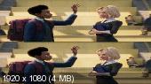 Без черных полос (на весь экран) Человек-паук: Через вселенные 3D / Spider-Man: Into the Spider-Verse 3D  ( by Amstaff) Вертикальная анаморфная стереопара
