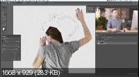 Выделение волос в сложных ситуациях в Photoshop (2019) HDRip