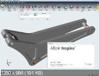 Altair inspire 2019.1.0 build 10930. Скриншот №1