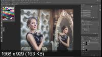 Художественная обработка в Photoshop. Холодное тонирование (2019) HDRip