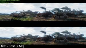 Хроники хищных городов 3D / Mortal Engines 3D  (Лицензия by Ash61) Вертикальная анаморфная стереопара