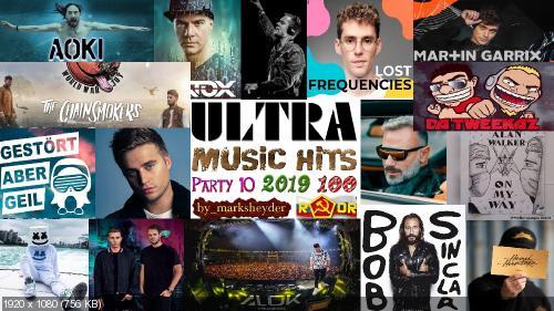 Сборник клипов - Ultra Music Hits. Часть 10. [100 шт.] (2019) WEBRip 720p, 1080p