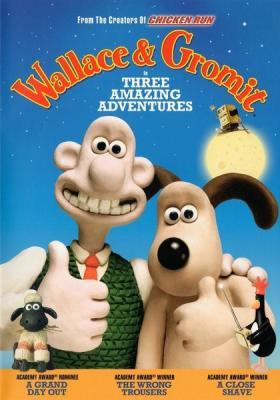 Уоллес и Громит 3 Классических Эпизода / Wallace & Gromit 3 Classic Episode (1989, 1993, 1995) BDRemux 1080p