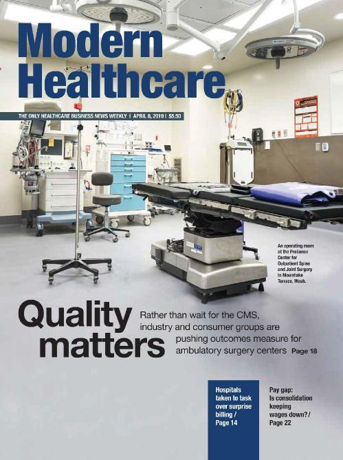 Modern Healthcare - April 08, (2019)
