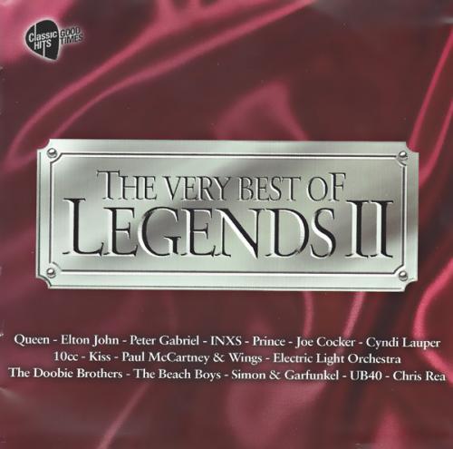 VA   The Very Best of Legends II [3CD Box Set] Mp3 320kbps Songs