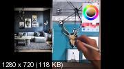 Интерьер на iPad (2018) Видеокурс