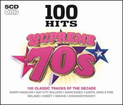 VA - 100 Hits - Supreme 70s [5CD] (2014)