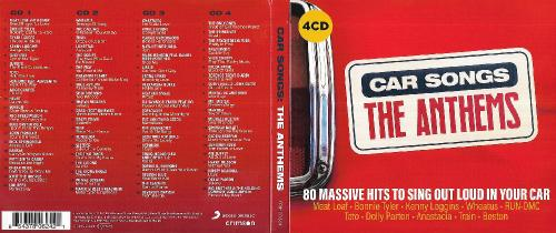 VA - Car Songs The Anthems (4CD) (2019)