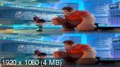 Без черных полос (на весь экран)  Ральф против интернета 3D / Ralph Breaks the Internet 3D Вертикальная анаморфная стереопара