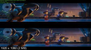 ЛЕГО Фильм 2 3D / The Lego Movie 2: The Second Part 3D (by Ash61) Вертикальная анаморфная стереопара