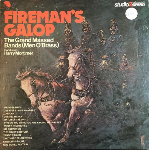 Fireman's Galop - The Grand Massed Bands - (Men O'Brass) - Mortimer [1976]