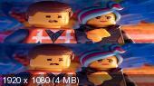 Без черных полос (на весь экран) ЛЕГО Фильм 2 3D / The Lego Movie 2: The Second Part 3D ( by Amstaff) Вертикальная анаморфная стереопара