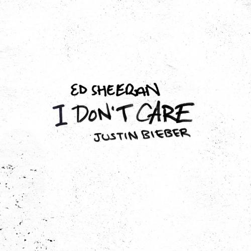 Ed Sheeran & Justin Bieber - I Don't Care Single (2019)