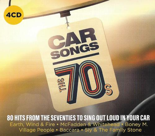 Car Songs - The 70s - VA (4CD) (2019)