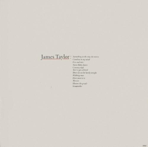 James Taylor - Greatest Hits (1976) Re US LP