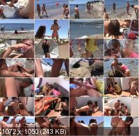Agnessa, Carla, Leila - Real Sex Party On The Sunny Beach (Part 3) (2019/FullHD)