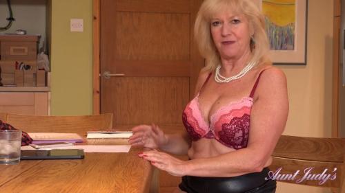 AuntJudys 19 05 17 Auntie Louise Home Office Seduction XXX 1080p MP4-KTR