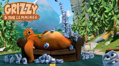 Гриззи и лемминги / Grizzy and the Lemmings [Сборник: 1-13] (2016-2019) WEBRip 720p